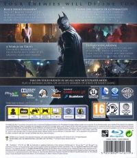 Batman: Arkham Origins Box Art
