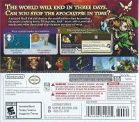 Legend of Zelda, The: Majora's Mask 3D Box Art