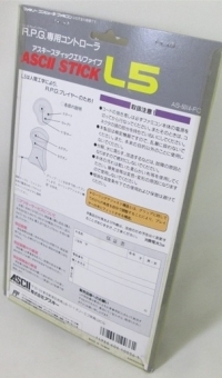 Ascii Stick L5 Box Art