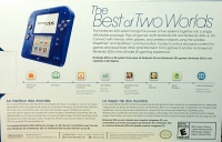 Nintendo 2DS - Crystal Blue Box Art
