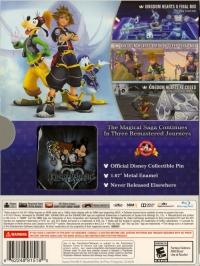 Kingdom Hearts HD 2.5 ReMIX - Limited Edition Box Art