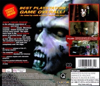 Resident Evil: Director's Cut (with Resident Evil 2 Demo) Box Art