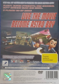 Astro Boy: The Video Game Box Art