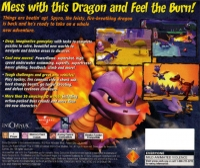 Spyro 2: Ripto's Rage! Box Art