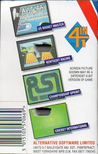 4 Most Super Sports Box Art