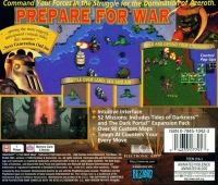 Warcraft II: The Dark Saga Box Art