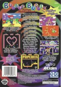 Bubble Bobble also featuring Rainbow Islands Box Art
