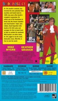 Austin Powers The Spy who Sagged Me [SE][DK][FI][NO] Box Art