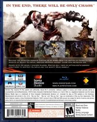 God of War III Remastered Box Art