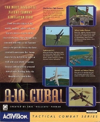 A-10 Cuba! Box Art