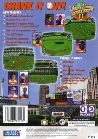 World Series Baseball II Box Art