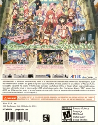 Dungeon Travelers 2: The Royal Library & the Monster Seal Box Art