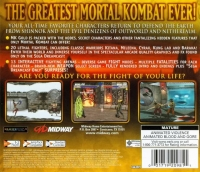 Mortal Kombat Gold Box Art