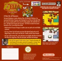 Legend of Zelda,The: Oracle of Seasons Box Art
