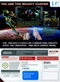 Metroid Prime 3: Corruption Box Art