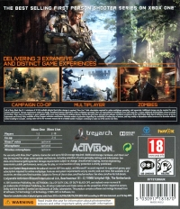 Call of Duty: Black Ops III Box Art