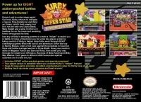 Kirby Super Star Box Art