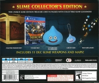 Dragon Quest Heroes : The World Tree's Woe and the Blight Below - Slime Collector's Edition Box Art