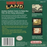Donkey Kong Land Box Art