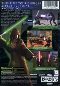 Star Wars: Knights of the Old Republic II: The Sith Lords Box Art