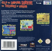 Simpsons, The: Night of the Living Treehouse of Horror Box Art