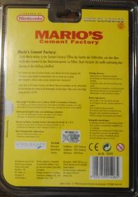 Mario's Cement Factory - Yellow Box Art