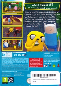 Adventure Time: Finn & Jake Investigations Box Art