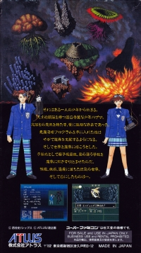Shin Megami Tensei if... Box Art
