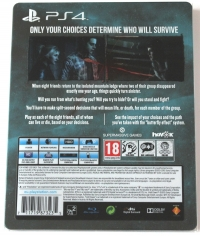 Until Dawn - Special Edition Box Art