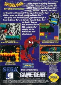 Spider-Man: Return of the Sinister Six Box Art