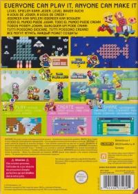 Super Mario Maker (Bundle Pack Version) Box Art