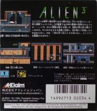 Alien 3 Box Art
