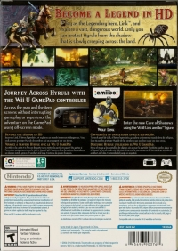 Legend of Zelda, The: Twilight Princess HD + Wolf Link amiibo Box Art