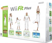 Wii Fit Plus (Balance Board Bundle) Box Art