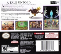 Final Fantasy III Box Art