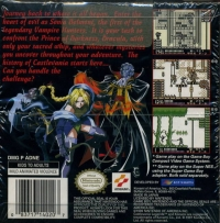 Castlevania: Legends Box Art