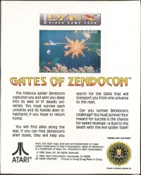 Gates of Zendocon Box Art
