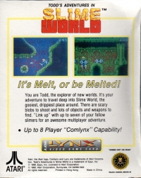 Todd's Adventures in Slime World Box Art