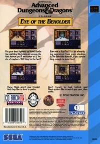 Advanced Dungeons & Dragons: Eye of the Beholder Box Art