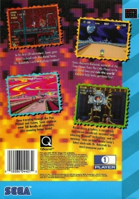 Sonic CD Box Art