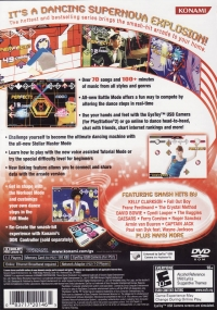 Dance Dance Revolution: SuperNOVA Box Art