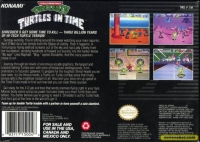 Teenage Mutant Ninja Turtles IV: Turtles in Time Box Art