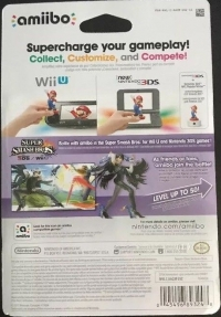 Bayonetta - Super Smash Bros. (gray Nintendo logo) Box Art
