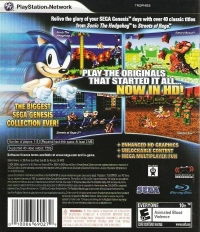Sonic's Ultimate Genesis Collection Box Art