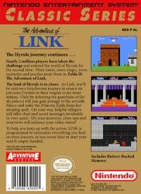 Zelda II: The Adventure of Link - Classic Series Box Art