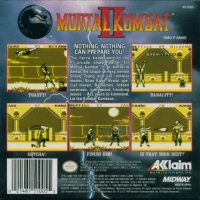 Mortal Kombat II Box Art