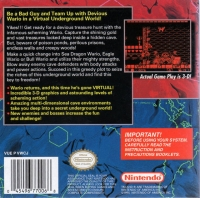Virtual Boy Wario Land Box Art