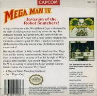 Mega Man IV Box Art