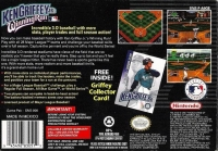 Ken Griffey Jr.'s Winning Run Box Art