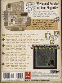 Fallout 3 - Prima Official Game Guide Box Art